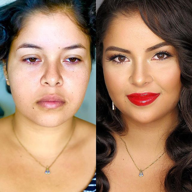 #beforeandaftermakeup _Discover what you