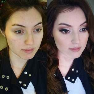 Beautiful girl. Before and after by me.