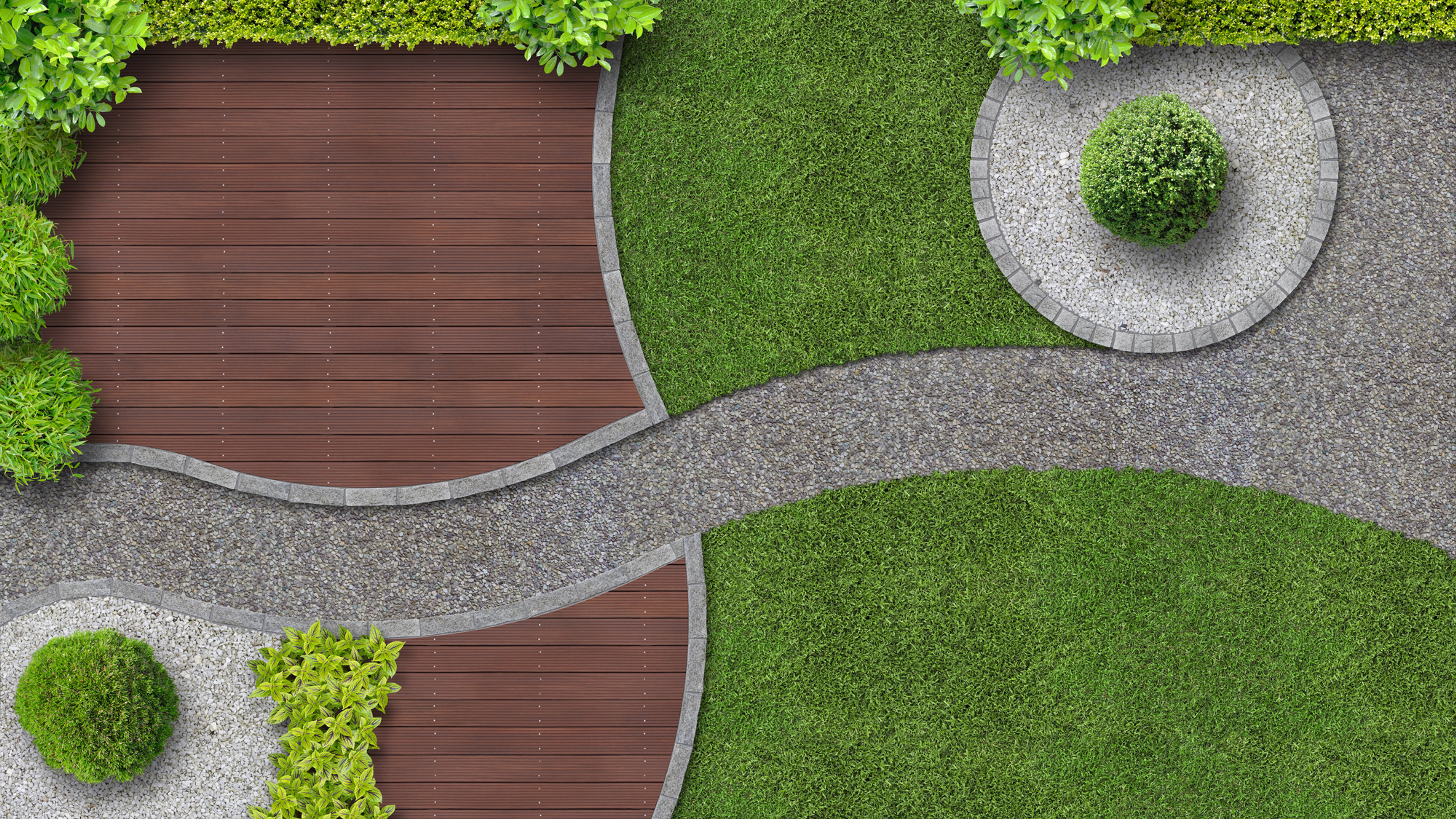 Landscaping redesign