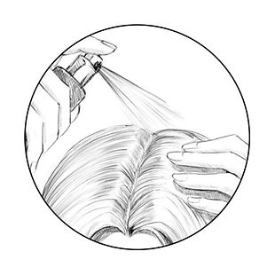 How to apply Avante Hair Restoration Serum