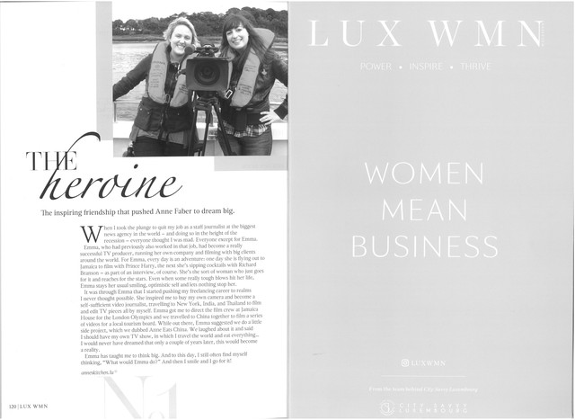 LUX WMN - The Heroine