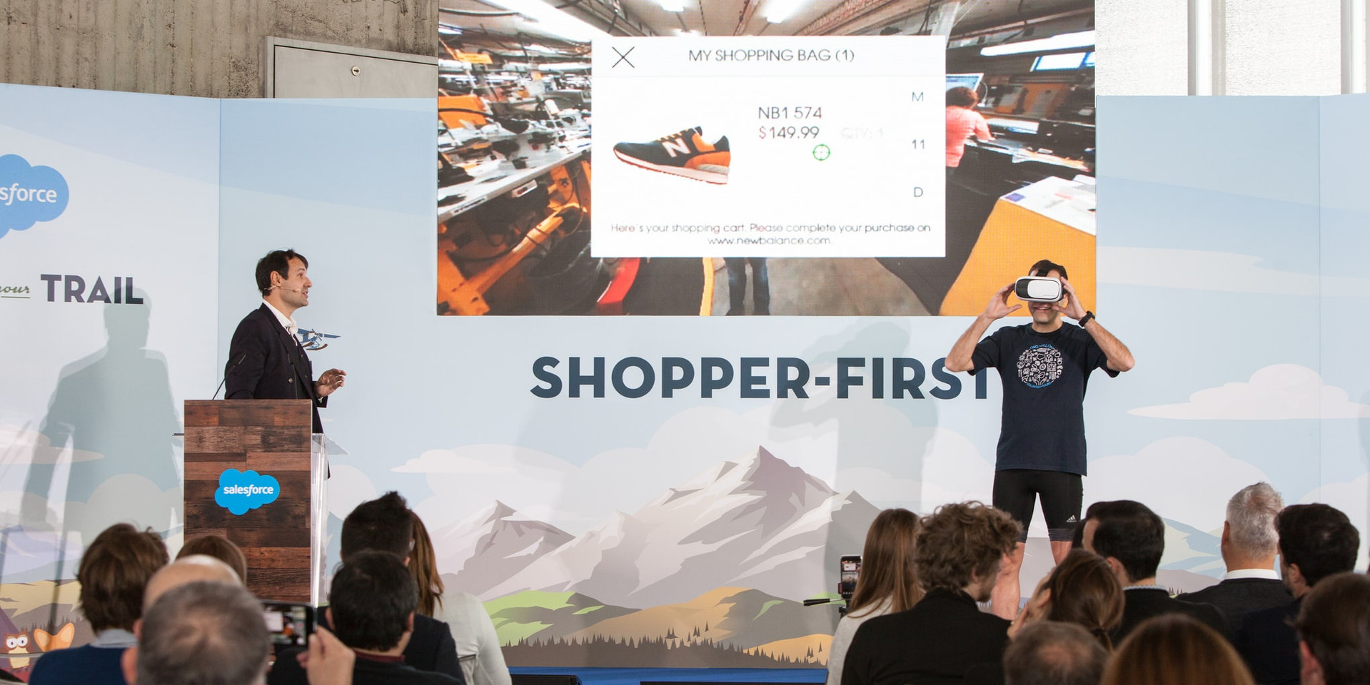 Shopper First Event, Milan
