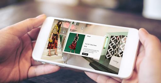 DVF Shop the Factory VR App