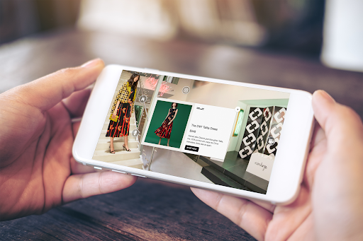 DVF Shop the Factory VR App