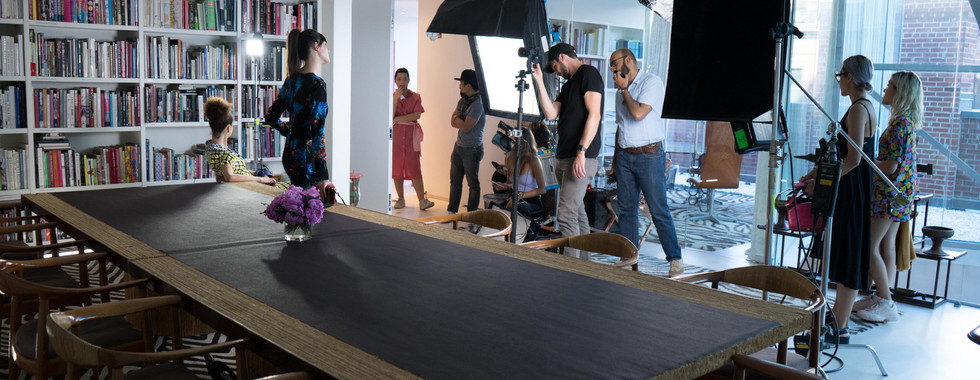 Behind the Scenes at DVF HQ New York