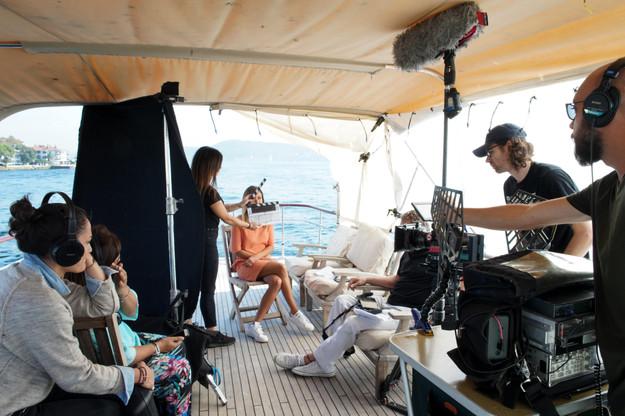 Mastercard Film Shoot, Salesforce