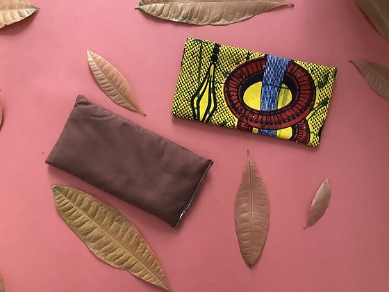 Housse de coussin de détente/méditation pour yeux - Wax