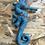 Thumbnail: Doudou Hippocampe - Bleu love