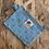 Thumbnail: Pochette Porte clé - bleu clair à pois