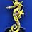 Thumbnail: Doudou Hippocampe -Wax Jaune flash