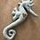 Thumbnail: Doudou Hippocampe - Pois/vert d'eau