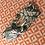 Thumbnail: Bandeau en tissu - Feuillage Kaki