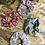 Thumbnail: Chouchou en tissus - Récup tissus fleuries vintage