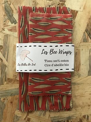 Les Bee Wraps x2