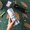 Thumbnail: Trousse Wrap - bleu jean