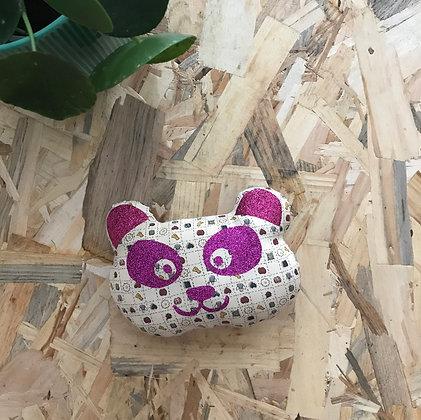 Doudou Panda - enfantin / rose