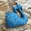 Thumbnail: Doudou Baleine - Wax/bleu graphique