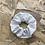 Thumbnail: Chouchou en tissus - blanc à pois
