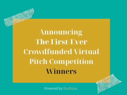 The Winners Of The First-Ever Crowdfunded Virtual Pitch Competition