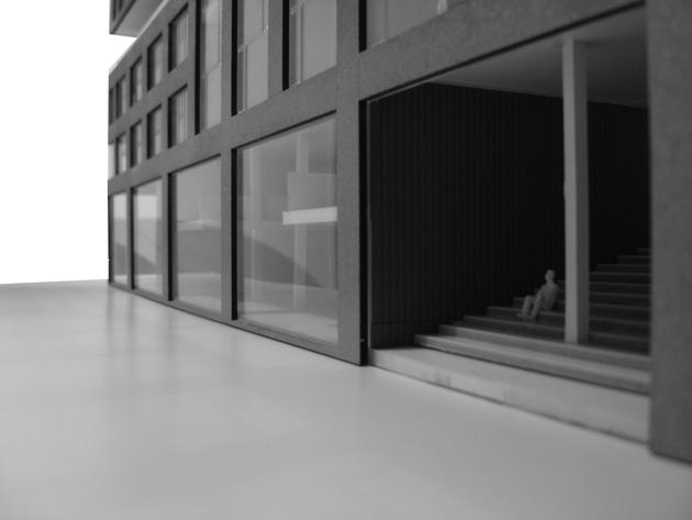 Woon/werkgebouw Vierhavenstrip