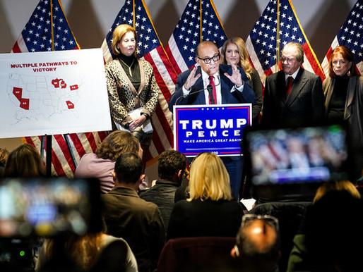 """""""Đội quái vật Kraken"""" của Trump bị nhúng nước sôi"""