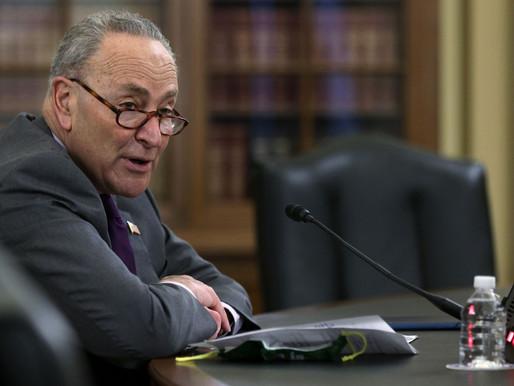 Schumer trình bày các dự luật hàng đầu của Thượng viện