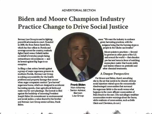 Công ty luật nơi em Biden làm, quảng cáo liên hệ, tạo đau đầu cho Chính Phủ Biden