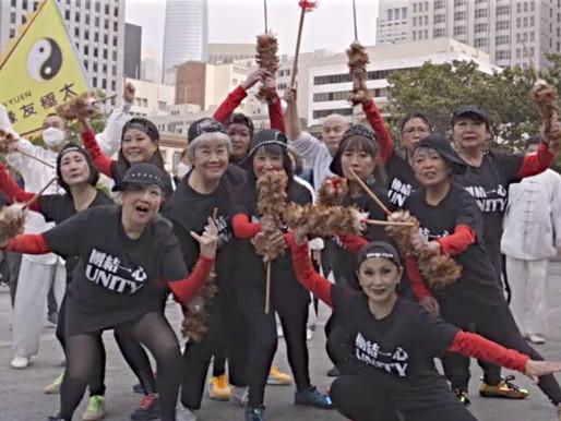 Các cụ bà rap trong video âm nhạc về 'Ngưng Thù Hận Người Châu Á' ở phố người Hoa San Francisco