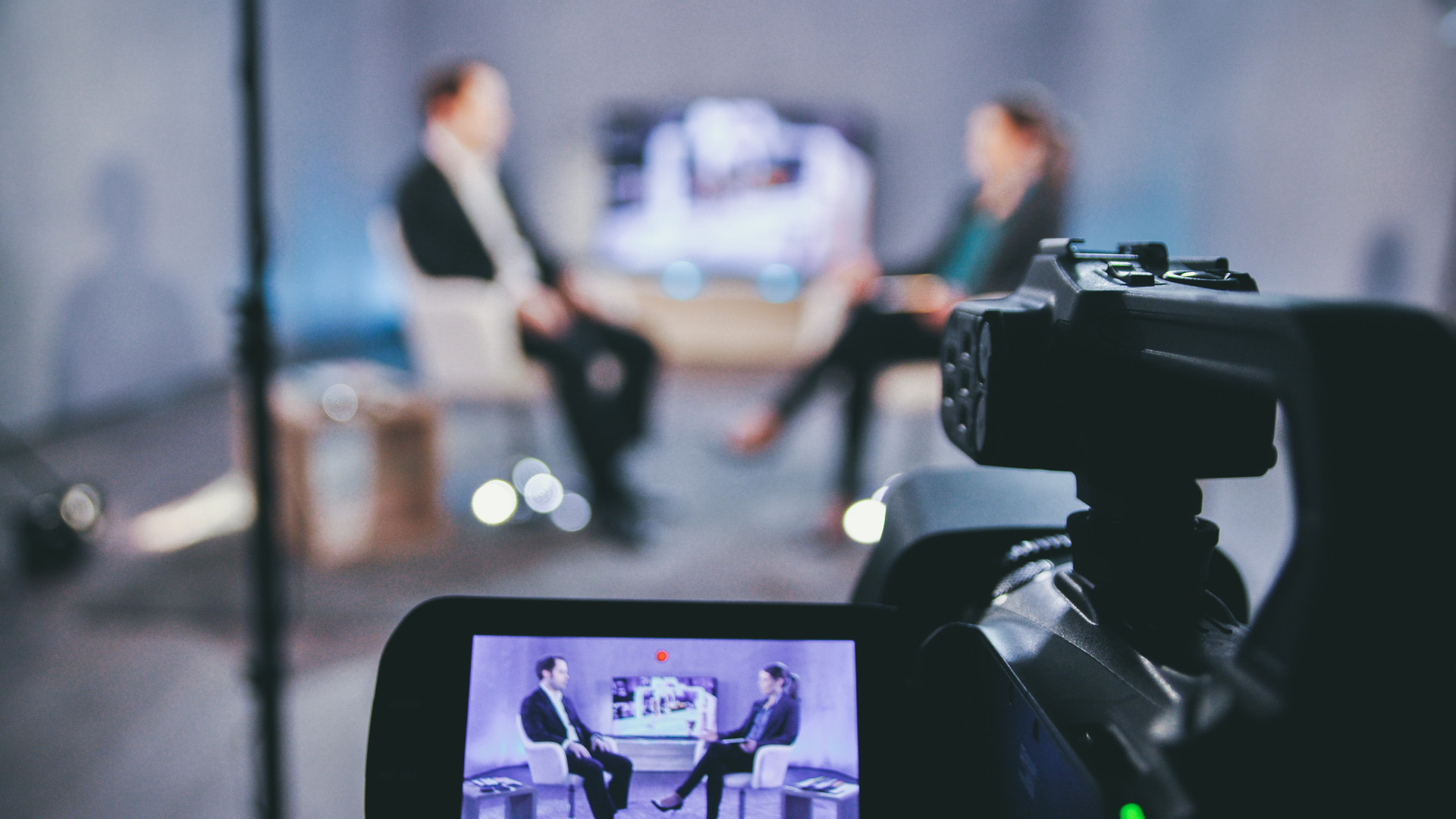 Set-up, Live-Stream, Kamera, Talk