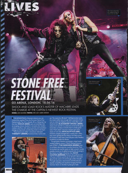 Stone Free Festival Live Review