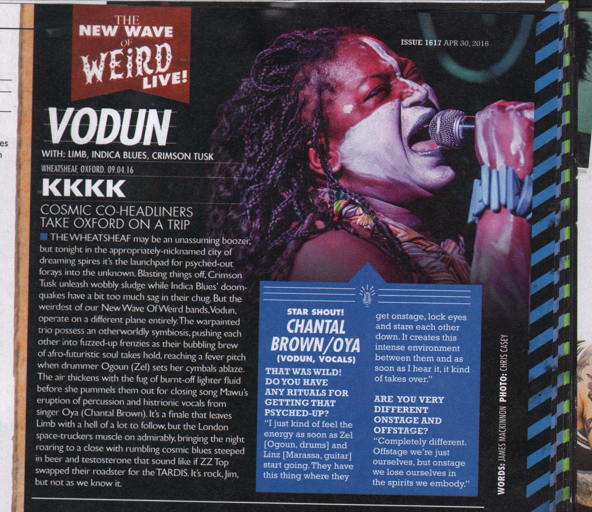 Kerrang! Live Review