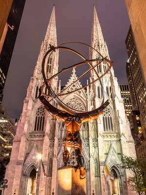 St Patrick's Cathedral, 5th Avenue, October 2018