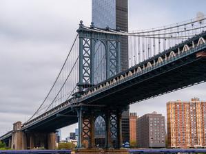 Manhattan Bridge, October 2019