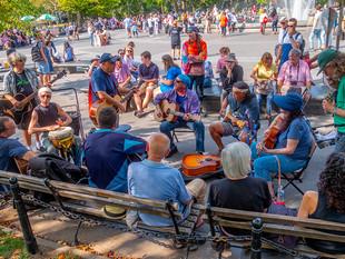 Washington Square Park, September 2019