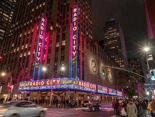 Radio City Music Hall, 1260 Avenue of the Americas, October 2018