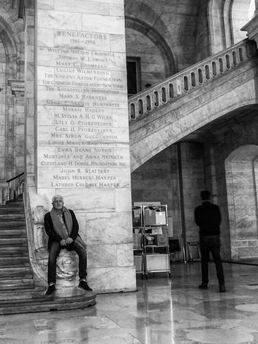 New York Public Library, October 2018