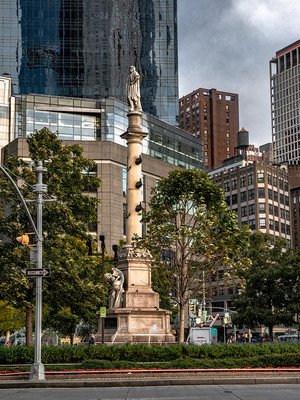 Columbus Circle, October 2018
