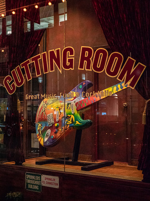 The Cutting Room, East 32nd Street, October 2018