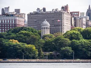 Upper West Side from Hudson River, September 2019