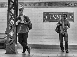 Essex Street subway station, September 2019