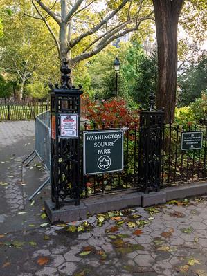Washington Square Park, October 2018