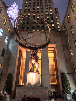 Rockefeller Centre, 5th Avenue, October 2018