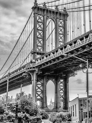 Manhattan Bridge, October 2018
