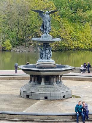Bethesda Fountain, October 2018