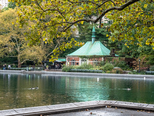 Conservatory Water, October 2018