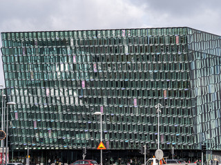 Cultural centre on the Reykjavik waterfront