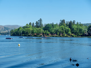 Lake Windermere, July 2018