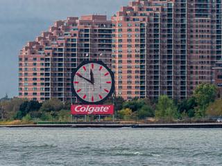 Colgate Clock, Jersey City, September 2019