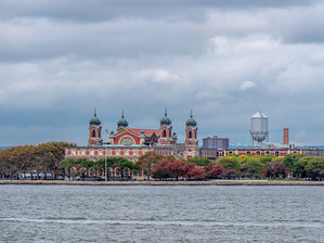 Ellis Island from the Staten Island Ferry, October 2018
