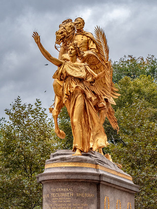 Central Park South, October 2018